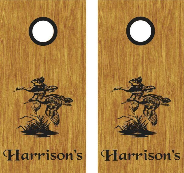 Duck Hunt Custom Cornhole Boards