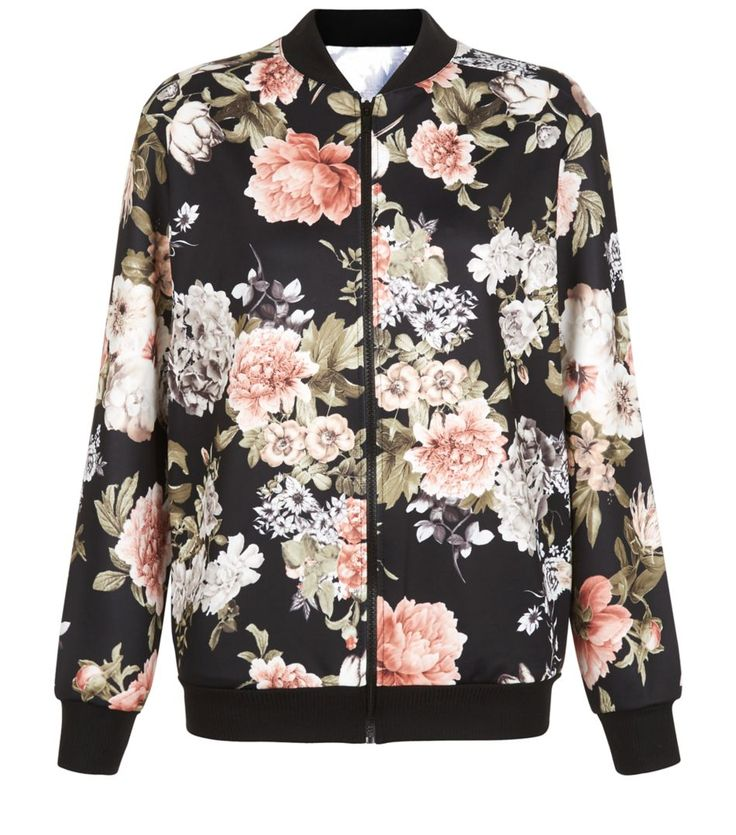 17 Best ideas about Floral Bomber Jacket on Pinterest | Floral ...