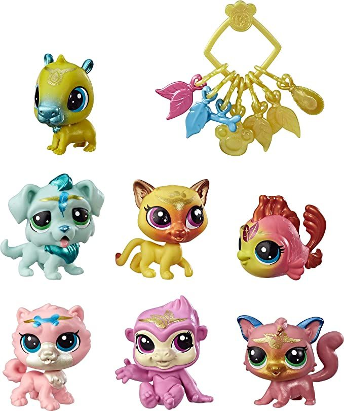 Littlest Pet Shop Lucky Pets Crystal Ball Megapack Surprise Pet Toy Ages 4 In 2020 Littlest Pet Shop Little Pets Pet Toys