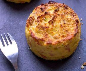 Τα παιδιά θα ξετρελαθούν με αυτη τη συνταγή και σεις μαζί! Είναι νόστιμα και πολύ ευκολά στη παρασκευή τους 1 κιλό πατάτες (κατά προτίμηση τριμμένες στον τρίφτη, ή πολύ ψιλοκομμένες) Υλικα 2 αυγά 1/3 φλιτζάνι κρέμα γάλακτος 1 φλιτζάνι τριμμένο τυρί τσένταρ γαλοπούλα ψιλοκομένη Εκτέλεση Βουτυρώνουμε και αλευρώνουμε ένα ταψάκι για muffins. Σε ένα μέτριο μπολ χτυπάμε ελαφρά …