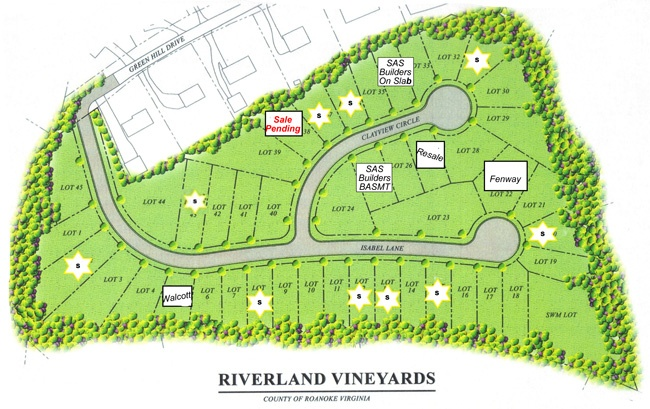 Riverland Vineyards - Salem, Virginia Call Judy Simmers for more info.