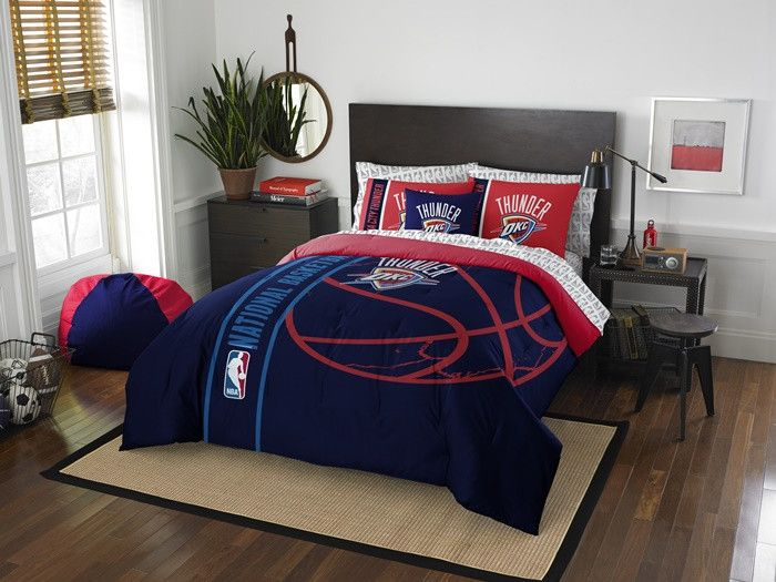 Oklahoma City Thunder NBA Full Bed in a Bag with Sheets63 best OKC Thunder images on Pinterest   Oklahoma city thunder  . Discount Bedroom Furniture Okc. Home Design Ideas