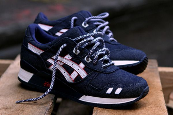 Asics Gel Lyte 3 Ronnie Fied Selvedge Denim.  These look super clean duly noted.