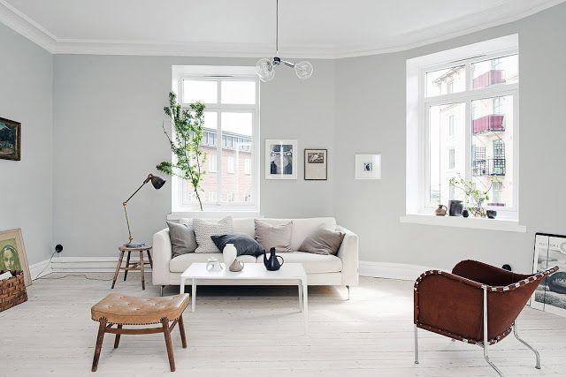 Salas estilo nórdico ideias e inspiração ~ Decoração e Ideias - casa e jardim