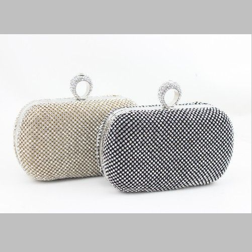 The New Women's Diamond Rings Shoulder Bag Fashion Lady's Party Dress Long Clutch US $18.32