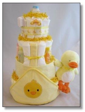 My Little Ducky Diaper Cake