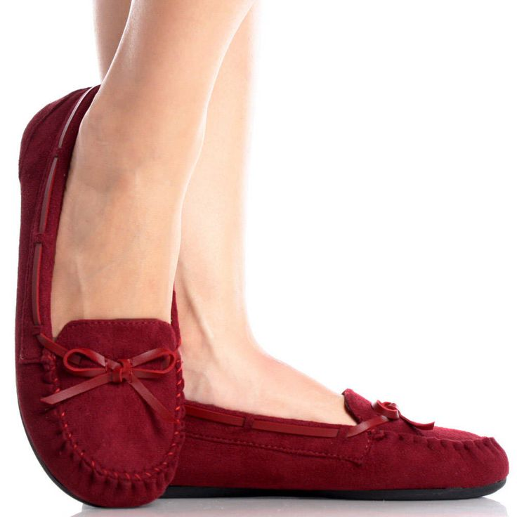 Suede Slippers Womens Shoes