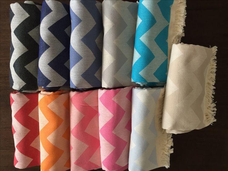 Zigzag #turkishtowels from #belindapeet