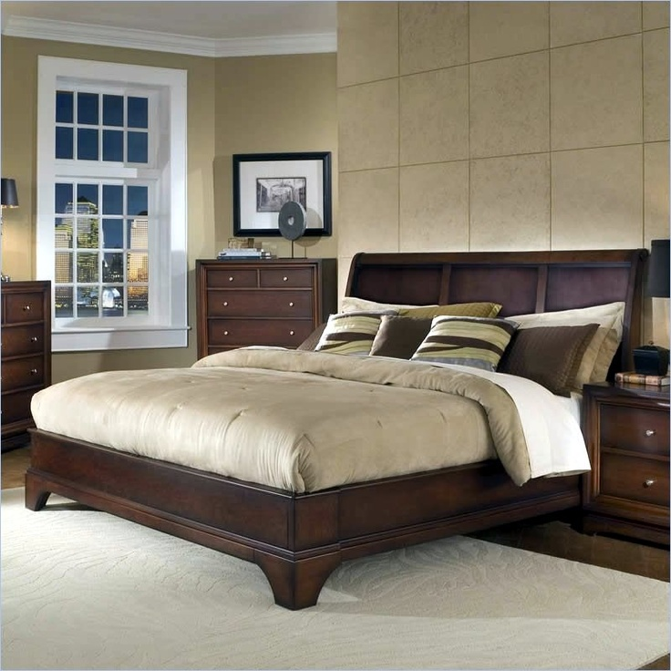 Lifestyle Solutions Bedroom Furniture: Lifestyle Solutions Hampton Queen Platform Bed In Antique