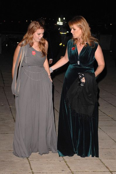 Sarah Ferguson Photos Photos - Princess Beatrice and Sarah Ferguson, Duchess of York arrive at the Children of Crisis 15th Anniversary Ball held at the Old Billingsgate Market on October 30, 2008 in London, England. - Children Of Crisis 15th Anniversary Ball - Arrivals