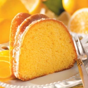Fluted Lemon Cake (start with a mix)