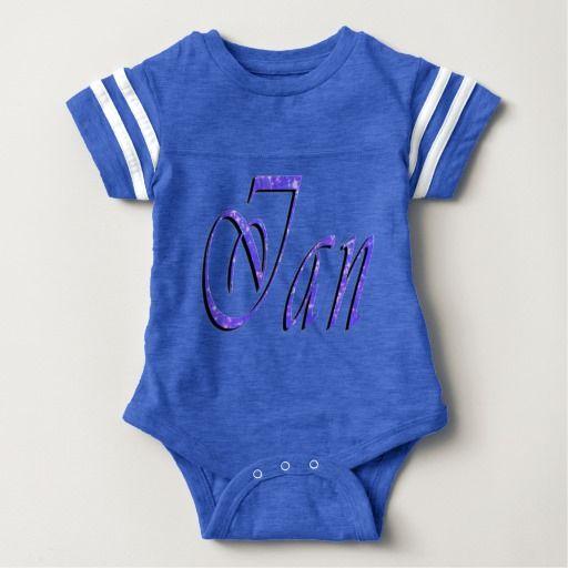 Ian, Name, Logo, Baby Boys Blue Bodysuit