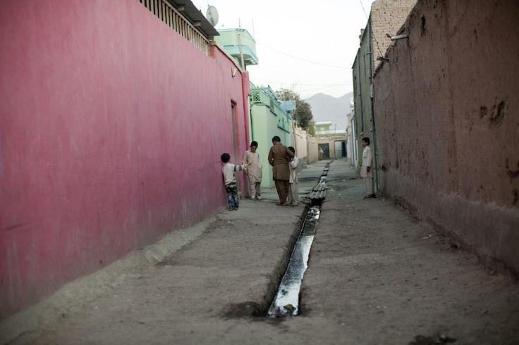 Photo essay: Filmmaking on the streets of Kabul - alley in Old Kabul.
