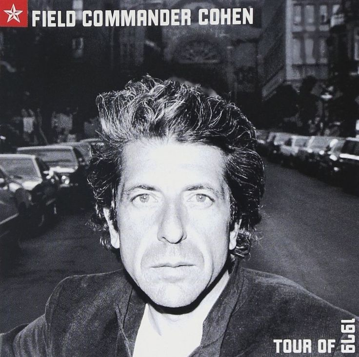 May he rest in peace  LEONARD COHEN Field Commander Cohen - Tour of 1979 (CD 2000) 12 Songs Canada #SingerSongwriter