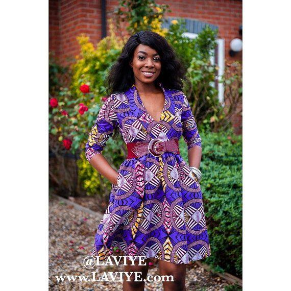 Afrikanischen Kleid afrikanische Kleidung Ankara Kleid von Laviye