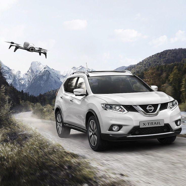 """Nissan X-Trail X-Scape: crossover vem com drone! Uma versão lançada na Europa do utilitário esportivo da Nissan vem com um equipamento incomum: drone compacto-leve! O aparelho é equipado com uma câmera que permite aos usuários o registro de memórias incríveis de seus melhores momentos!  O pacote X-Scape já está disponível no Reino Unido por 500 libras. O drone que acompanha é equipado com o sistema de GPS """"Follow Me""""; que incorpora tecnologias de rastreamento via satélite e visual. Com o…"""