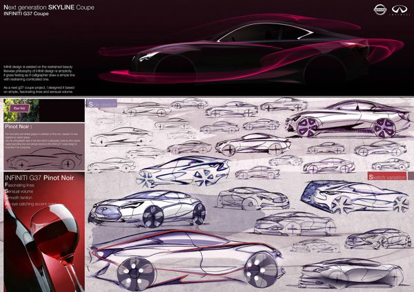 INFINITI G37 Coupe Next generation_2012 on Behance