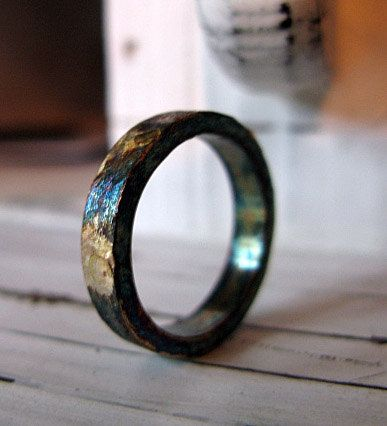 Hey, I found this really awesome Etsy listing at https://www.etsy.com/listing/159064889/rustic-mens-wedding-band