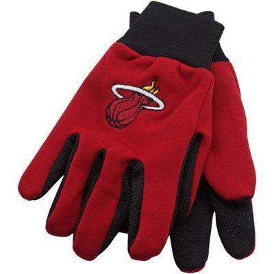 Miami Heat Work Gloves - Red