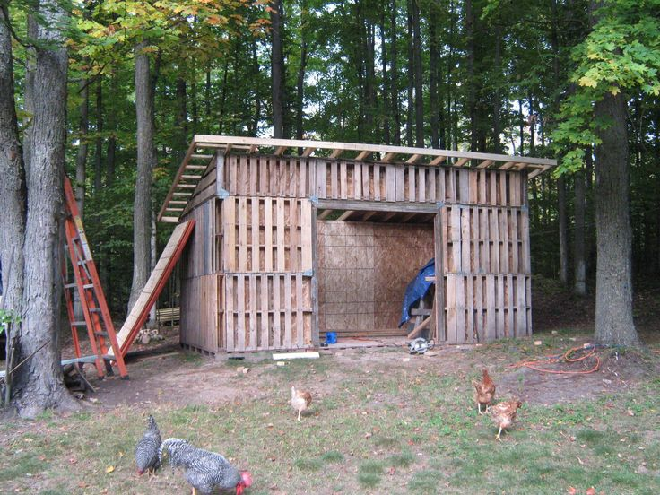 Pallet Shed Building 101 Cool Ideas Pallet Barn
