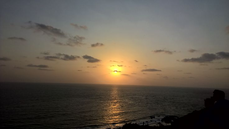Sunset from Chapora fort