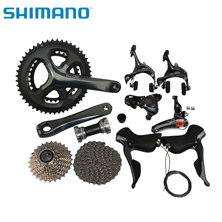 Find More Bicycle Derailleur Information about SHIMANO Tiagra 4700 Road Bike Groupset Groups  Compact 2x10 Speed Bicycle Parts Bike Derailleur 170mm 34/50T CrankSet,High Quality bike parts chain,China bike tube valve types Suppliers, Cheap bike seat shock absorber from rockbrosbike Store on Aliexpress.com
