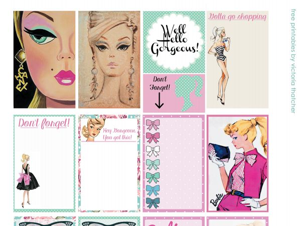 Planner Printables (Any Printable Designed for the Large Happy Planner has the ORIGINAL dimensions) - Google Drive