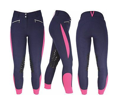 Now available in store:  HyPERFORMANCE Spo.... Check it out here: http://www.corkfarmequestrian.co.uk/products/hyperformance-sports-active-ladies-breeches-silicon-knees-24-34?utm_campaign=social_autopilot&utm_source=pin&utm_medium=pin