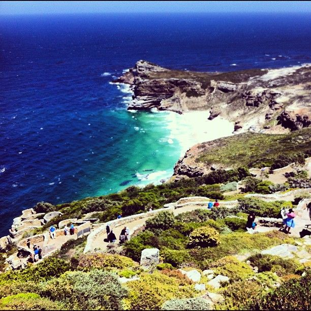 Incredible View at Cape Point - #visitsouthafrica #travel