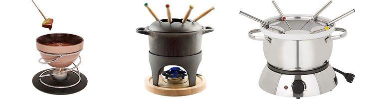 Guide de magasinage pour service à fondue: les sources de chaleurs