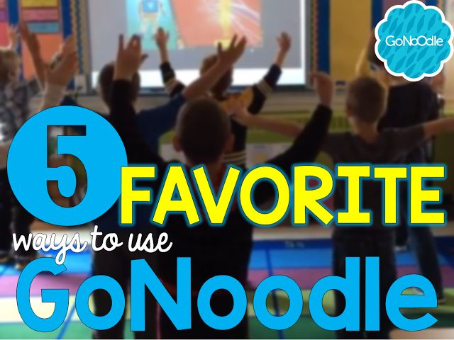 It is no secret that GoNoodle is one of my favorite classroom discoveries of all time. Seriously... in my nearly 18 years of teaching I have never come across a resource as useful and versatile as this one. It amazes me that some teachers are just now discovering this gem, so I am popping in today to share my 5 favorite ways to use GoNoodle in my classroom.