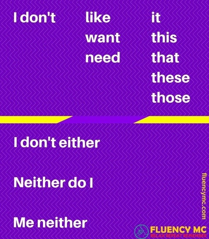 Phrases - EITHER and NEITHER! Make your own sentence!