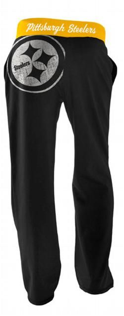 Pittsburgh Steelers Women's Recruit Baggy Pant - Official Online Store