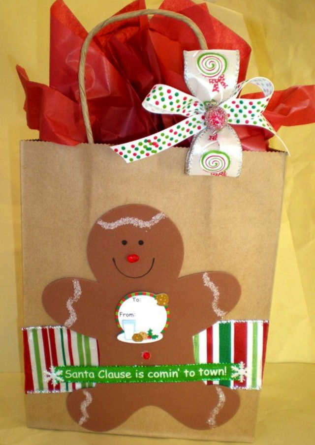 Christmas gift bags ... audjiefied