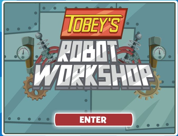 Make your own robots, just like Tobey, with Tobey's Robot Workshop!  Keywords: WordGirl, Tobey's Robot Workshop, online game