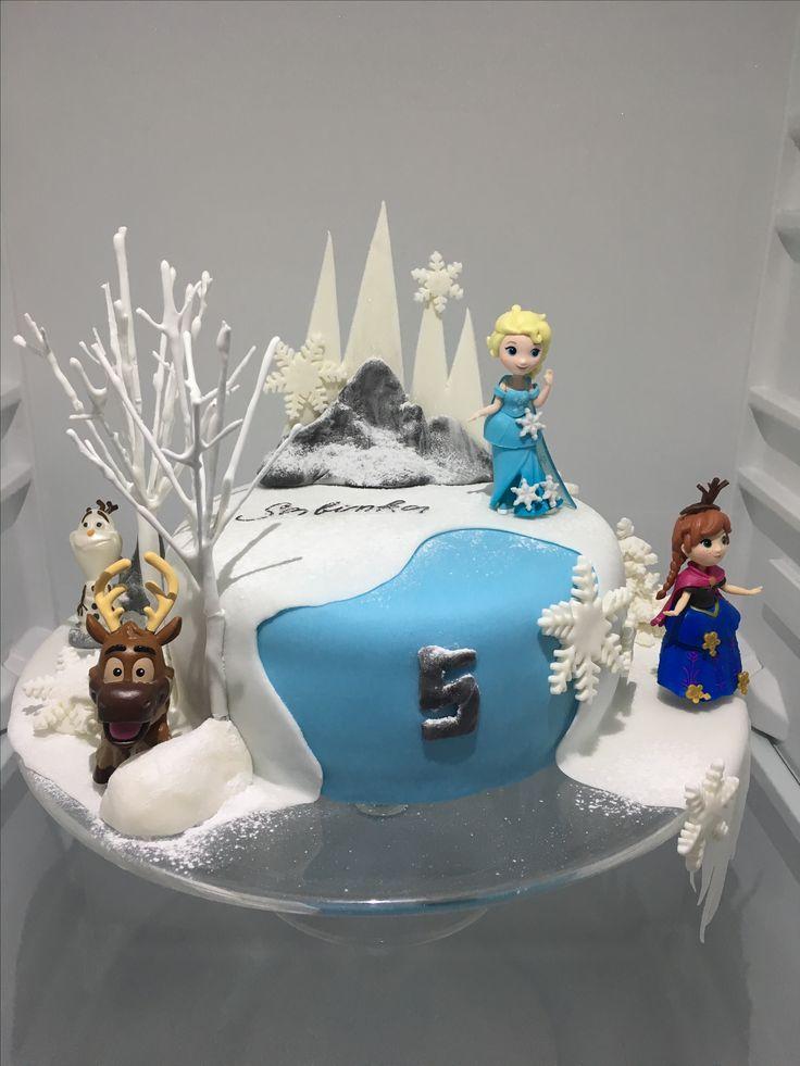 Frozen Birthday Cake, dort Ledove kralovstvi