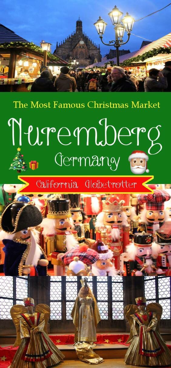 The Most Famous Christmas Market in Germany - Nuremberg, Bavaria - California Globetrotter