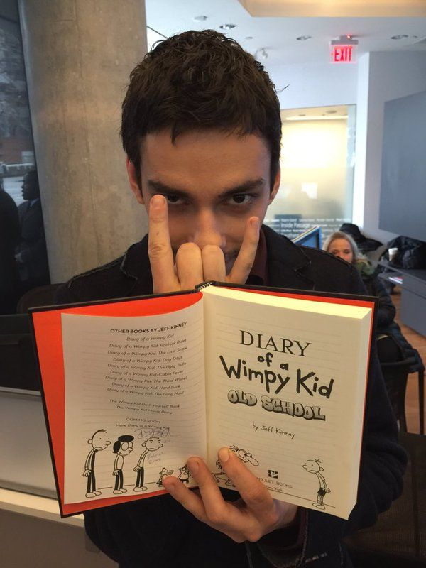 Devon Bostick Reacts To Diary Of A Wimpy Kid