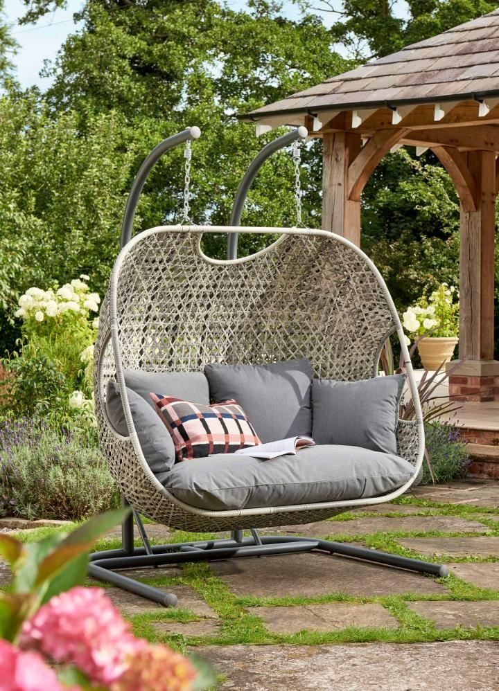 Norfolk Leisure Frampton Double Cocoon Egg Chair In 2020 Egg Chair Chair Cocoon