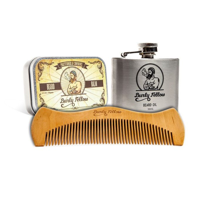 Flask Beard Pack - Burly Fellow