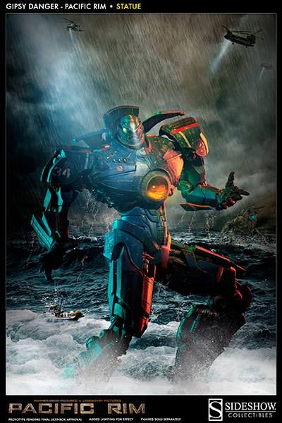 Pacific Rim Gipsy Danger: Pacific Rim Statue by Sideshow Col | Sideshow Collectibles