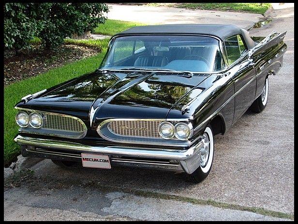 1959 Pontiac Bonneville Convertible, 389 Tri-Power