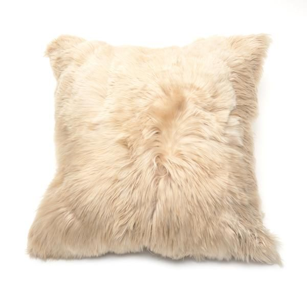 Intiearth, Suri Alpaca Pillow Sand