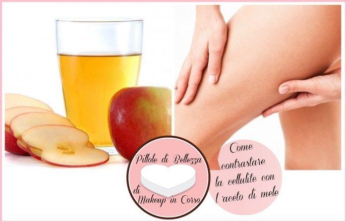 Vorreste avere una pelle più tonica e senza cellulite? Ecco un rimedio casalingo anti-cellulite a base di aceto di mele!