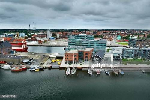 07-14 Odense, Denmark - August 13, 2011: High angle view of... #odense: 07-14 Odense, Denmark - August 13, 2011: High angle view… #odense