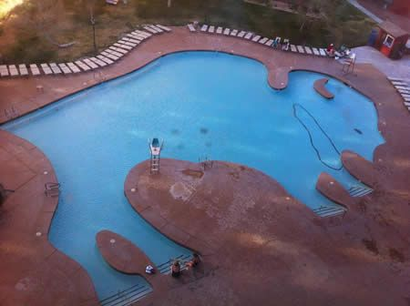13 Best Images About Silly Shaped Swimming Pools On