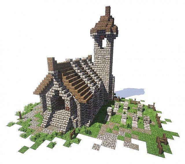 Minecraft Dragon Castle – Jerusalem House on