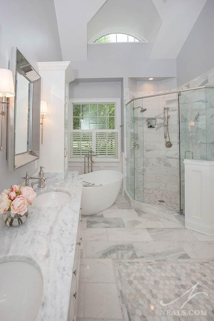 Project Spotlight Classic Master Bath In Indian Hill In 2020 Bathroom Remodel Designs Master Bath Remodel Bathroom Renovations