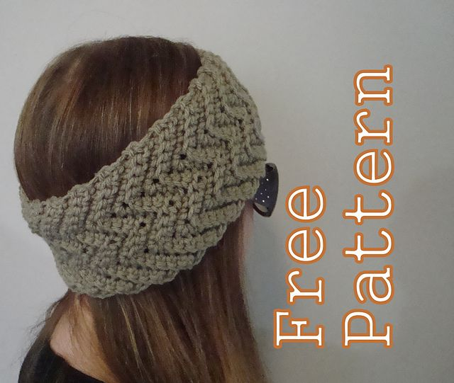 Crochet Hat Patterns With Cuff : Ravelry: Simple Waves Headband and Boot Cuffs pattern by ...