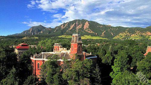 Old Main, University of Colorado at Boulder, United States